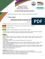 Resumo Toxicologia (FINAL)
