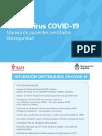 Manejo Pacientes Ventilados Bioseguridad COVID19