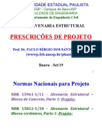 Alv. Estrutural - Prescr. NBR