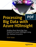 Processing Big Data with Azure HDInsight