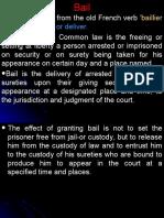 Bail details