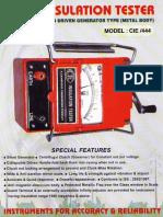cie-insulation-tester