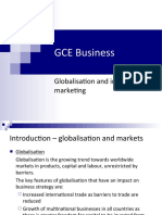 GCE Business Globalisation and international marketing-completed.ppt