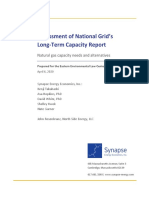 Synapse Report for Eastern Environmental Law Center on National Grid capacity
