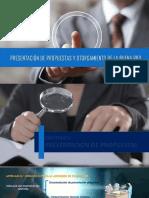Expo 1 - Presentacion de propuestas y otorgamiento de la Buena Pro
