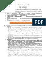 Guía de estudio - Personal I.docx