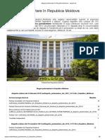 Alegeri parlamentare în Republica Moldova - alegeri.md