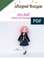 Avy Doll crochet pattern