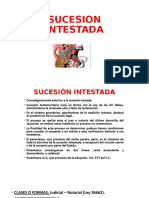 SUCESION INTESTADA