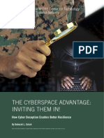 The CyberSpace Advantage