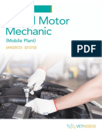 Fact Sheet - Diesel Motor Mechanic - Mobile Plant