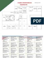 Plano e Inventario de Equipos FES