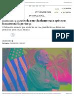 Bloomberg desiste da corrida democrata após seu fracasso na Superterça | Internacional | EL PAÍS Brasil