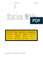 Rapport Station Météo
