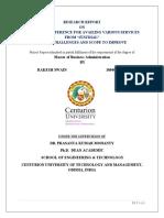 RESEARCH REPORT Of PM Rakesh 13