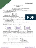 1-Thermodynamique II serie n°1 SMP 3 2013-2014
