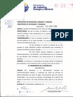 Decreto MIEM Antel