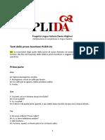 Trascrizioni audio A1 per sito