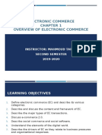 Overview of E-commerce Chapter One