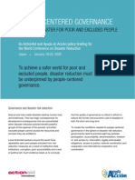 People Centred Governance