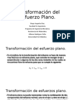 Transformación del Esfuerzo Plano (1)