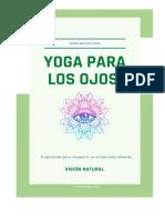 Yoga Para Los Ojos - Vision Natural