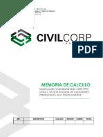 MEMORIA DE CÁLCULO II