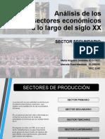 Actividad 4_Análisis de los sectores económicos a lo largo del siglo XX_Sector Secundario