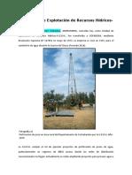 UNIDAD DE EXPLOTACION DE RECURSOS HIDRICOS COFADENA