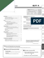 GT1 - Manual Do Proprietario