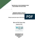 DISEÑO MADERA VIP NSR-10