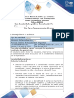 Guía de actividades y rúbrica de evaluación- Pre tarea- Reconocimiento del curso