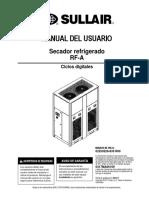 Manual de Usuario - Secadores RFA