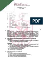 sil lenguaje CCBB - FMH - USMP FN 2016 I