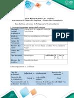 Guía de Ruta y Avance de Ruta para la Realimentación - Fase 1. Diagnóstico Solidario (1)