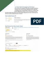Phil Meyer Fake Reviews - Audible.com - Poker Math and Strategies