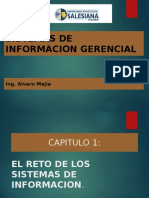 Capitulo 1. EL RETO DE LOS SISTEMAS DE INFORMACION