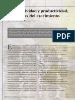 articulo sobre productividad y competitividad