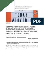 ÚLTIMAS DISPOSICIONES DEL PODER EJECUTIVO URUGUAYO EN MATERIA LABORAL RESPECTO DE LA SITUACIÓN DEL CORONAVIRUS COVID-19 – Blog Jurídico de Germán Rosas Barón Abogado (1)