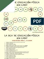 JUEGO DE LA OCA E. F