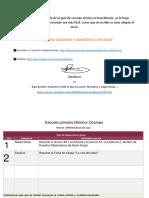 Formato Plan Actividades Editable