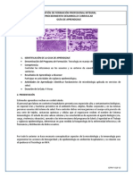 Actividad microbiología general