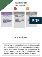 Hemostaticos