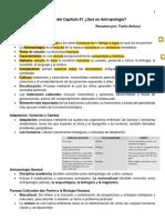 1. Chapter 1_Summary_Qué es Antropología