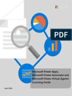 Power Apps Power Automate and Power Virtual Agents Licensing Guide - Apr 2020.pdf