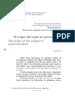 El_origen_del_sujeto_en_psicoanalisis