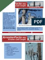 ArresterWorks Facts-001 Arrester Lead Length
