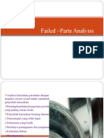 Failed –Parts Analysis Maintenance Management Engineering