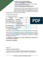 ACTA DE LA JUNTA DE 3° AÑO B 2012-2013