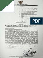 Surat Edaran Bupati Lombok Tengah